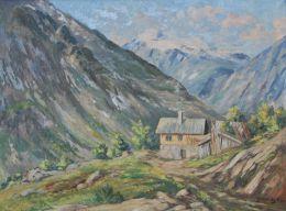 Bjarne  Mauritz Larsen - Fjell - hus